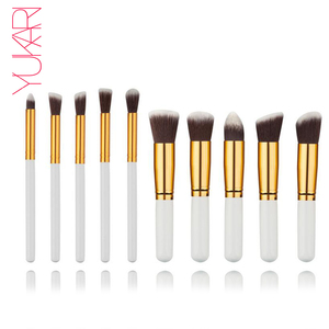 YUKARI 10PCS WOOL Makeup Brush
