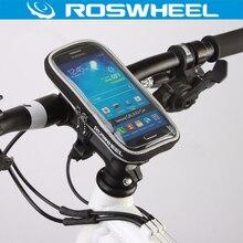ROSWHEEL 5,5 «4,8» 4,2 «телефон велосипедная сумка руль чехол сенсорный экран велосипедная сумка водостойкий 840D полиэстер ПВХ велосипедные сумки