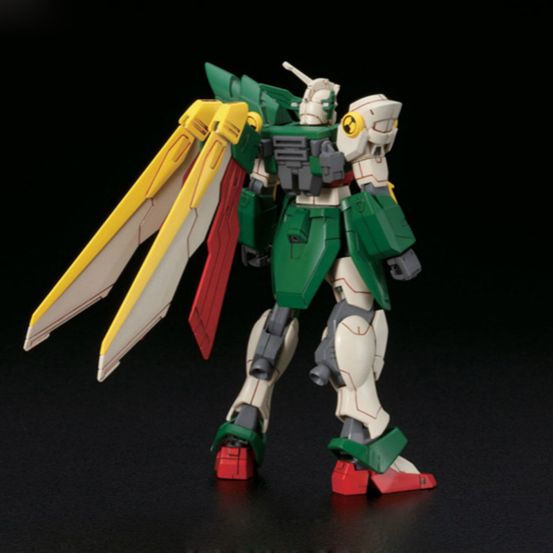 Image 5 - Anime Gaogao 13cm HG 1/144 Wing Gundam Fenice XXXG 01WF model hot kids toy action figuras assembled Phoenix Robot puzzle gift-in Action & Toy Figures from Toys & Hobbies