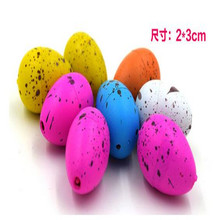 10piece lots Small rain doll dinosaur egg expansion funny toys Gifts for children