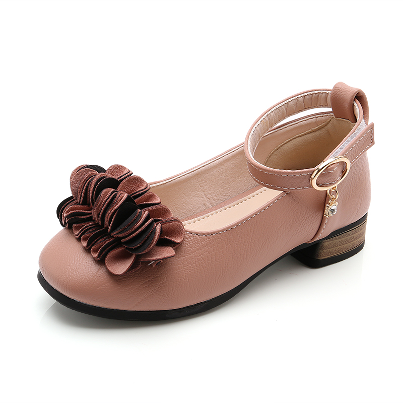 2018 spring children's sandals low with the girls princess shoes girls casual shoes comfortable casual shoes