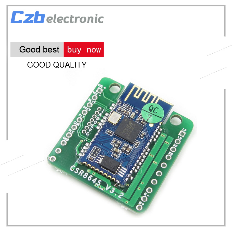 4.0 CSR8645 <font><b>Bluetooth</b></font> <font><b>Amplifier</b></font> Board 5W+5W APT-X Stereo Receiver Amp Module