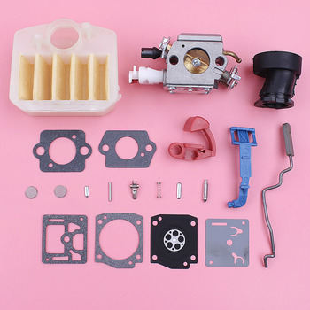 Carburetor Carb Repair Kit For Husqvarna 340 345 350 346XP Air Filter Throttle Choke Rod Intake Manifold Chainsaw Replace Part