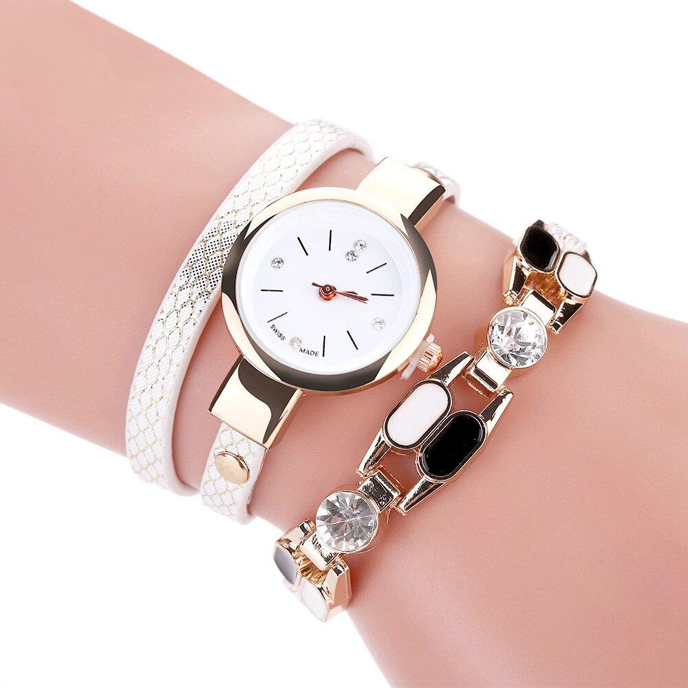 High Quality Beautiful Women Bracelet Watch Ladies Watch Casual Round Analog Quartz Wrist Bracelet Watch For Women Clock #W