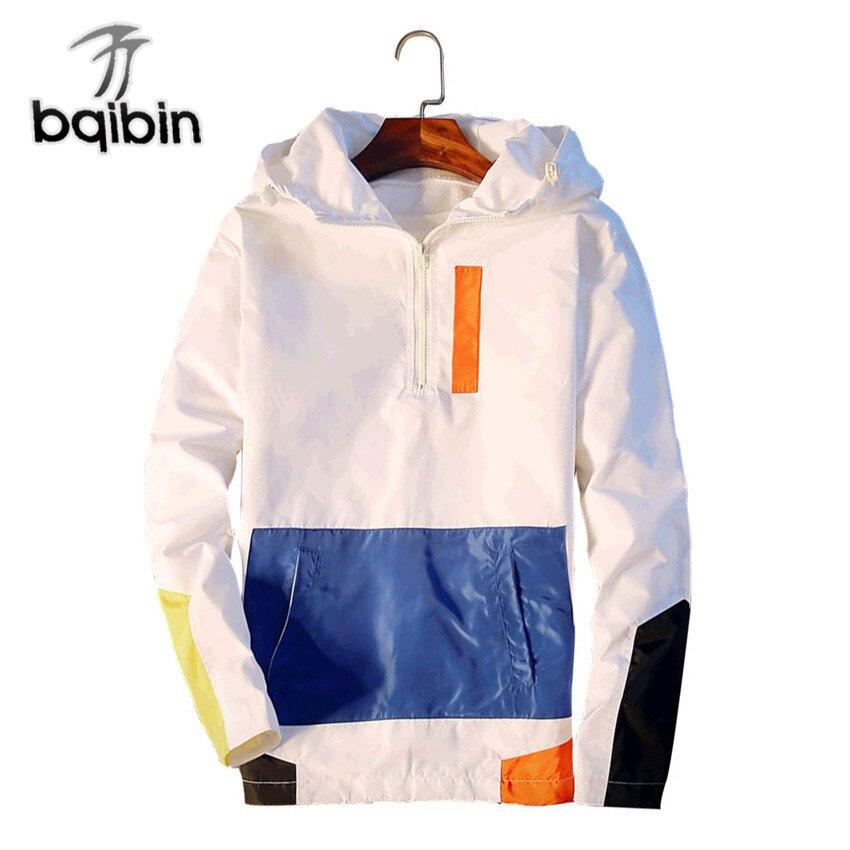 f338f6a8c New 2019 Spring Bomber Jacket Men Thin Jackets Men Casual Lover Jacket Hip  Hop Windbreaker Hooded Jacket Coat Zipper Parka Men