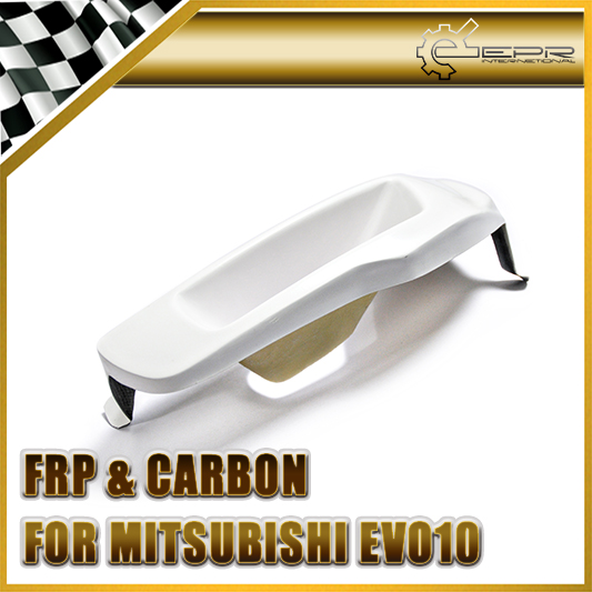 EPR Car Styling For Mitsubishi Evolution EVO 10 FRP Fiber Glass Vented Headlight Block Out Panel (LHS) Fiberglass Accessories