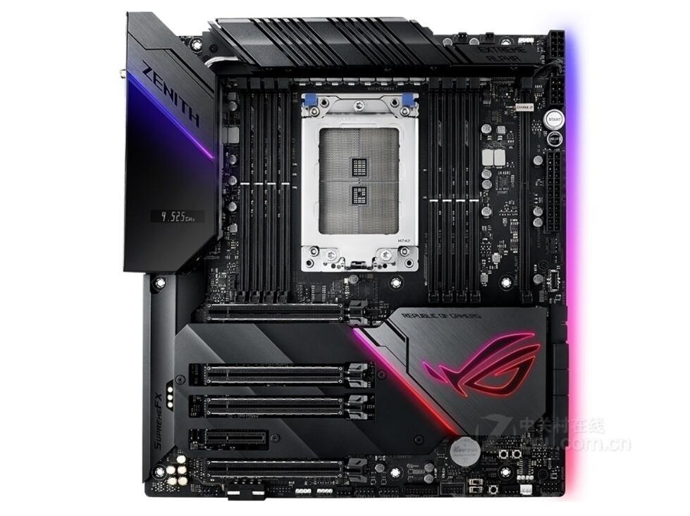 Asus ROG Zenith Extreme Alpha  AMD X399/TR4 DDR4 128GB PCI-E 3.0 USB3.1 M.2 DIMM.2 RAID  E-ATX Motherboard