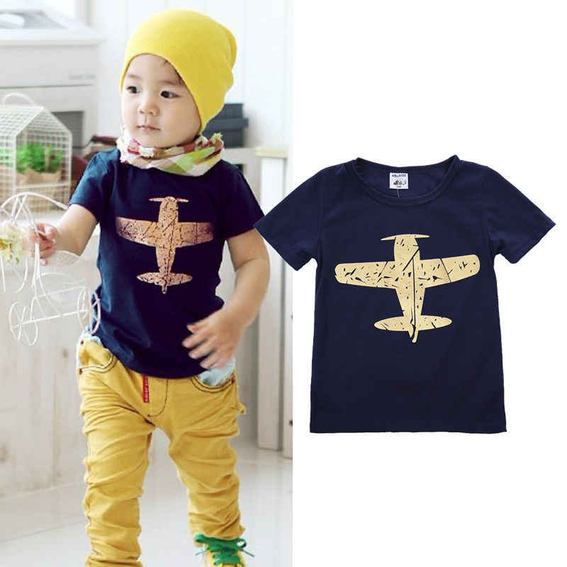 Newest summer baby boy t shirt kids short sleeve fighter for Toddler t shirt printing