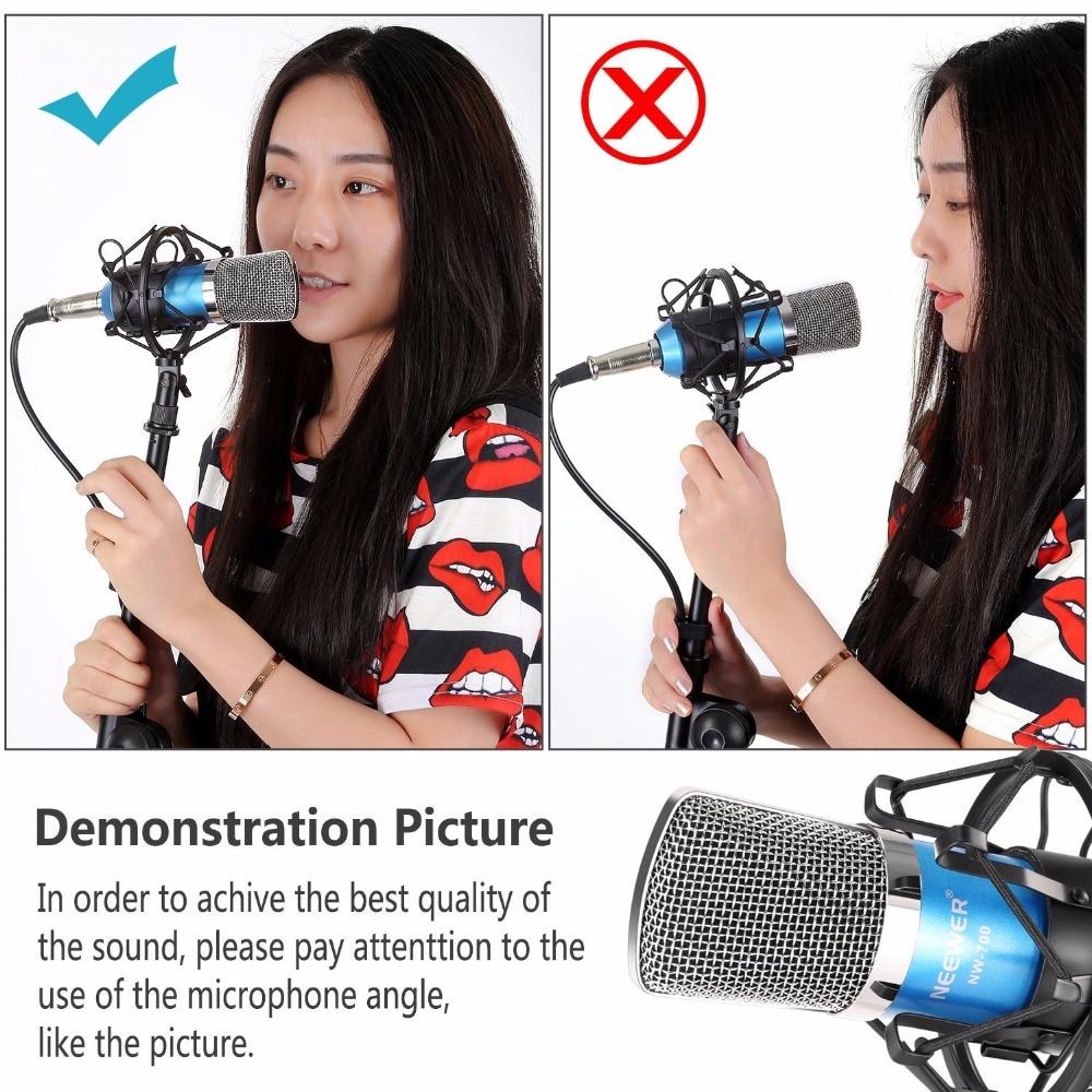 Neewer Blue NW-700 Stručni studio za emitiranje Kondenzatorski - Prijenosni audio i video - Foto 4