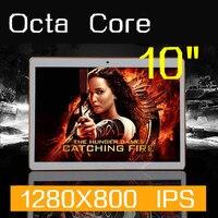 Tablet PC 10 polegada Octa Kernen 1280X800 32 GB DDR3 4 GB RAM 5.0MP Camera 3G WCDMA + GSM Sim-kaart android5.1 tablet PCs