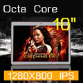 Tablet PC 10 polegada Octa Núcleo 1280X800 32 GB DDR3 de 4 GB de RAM Câmera 5.0MP 3G WCDMA + GSM Cartão SIM android5.1 tablet PCs