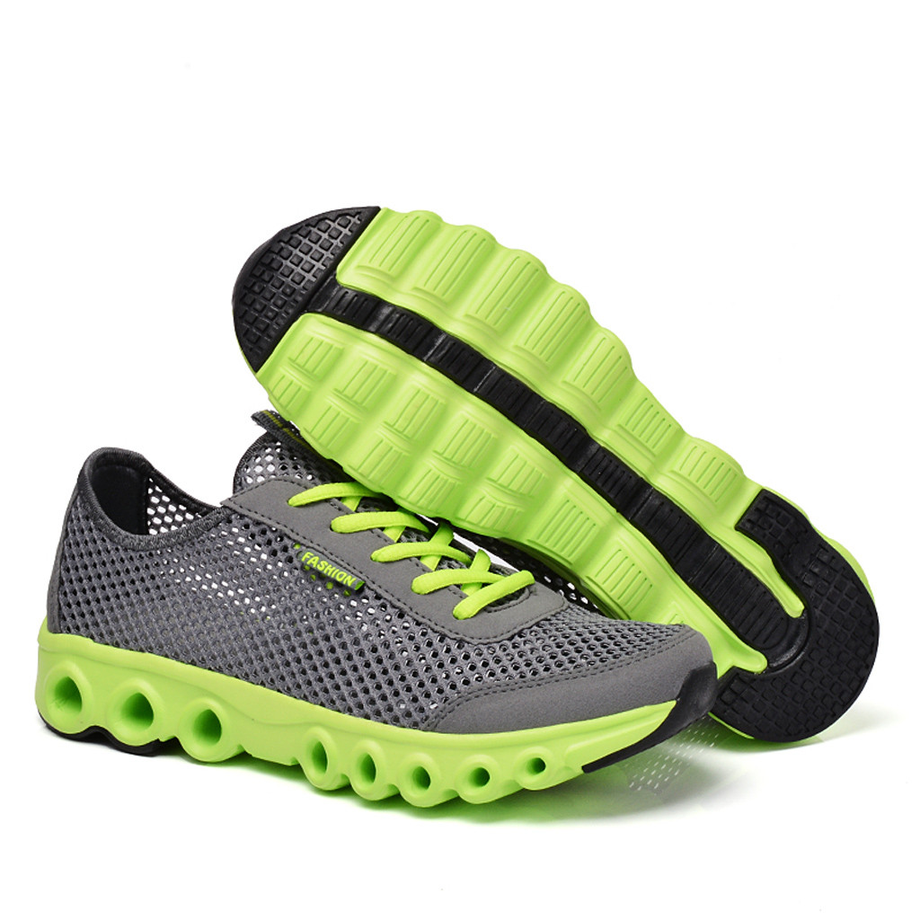 New Men s Shoes Mesh Jogging Gym Shoes Leisure Sports Shoes Air Breathable Training Running Sport