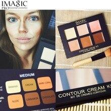 6 Colors Contour Palette Concealer Cream Makeup Palatte Concealer Face Primer palette Concealer makeup facial camouflage based