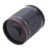 500mm f/8.0 Camera Telephoto Manual Mirror Lens + T2 Mount Adapter Ring for Canon 1200D 760D 750D 650D 600D 70D 60D 5DII 7D DSLR