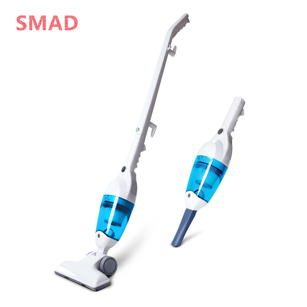 SMAD Ultra Quiet Mini Home Rod Vacuum Cleaner Portable Dust Collector Home Aspirator Handheld Vacuum Cleaner ultra quiet push rod vacuum cleaner portable dual use handheld dust collector mites killing device high power home aspirator