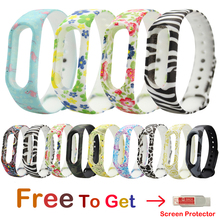 цены New Silicone Strap Replacement Strap For Xiaomi Miband 2 Smart Band Bracelet Replacement Belt For Mi band 2 wristband