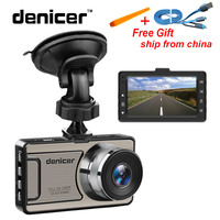 Novatek 96650 Car DVR 3 170 Degree Wide Angle Car Camera Full HD 1080p Dashcam G