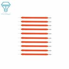 10 шт. лампа накаливания Эдисона, запчасти для лампы, светодиодный чип, красный, синий, теплый белый, холодный белый, светильник накаливания, аксессуары, Диод для ремонта