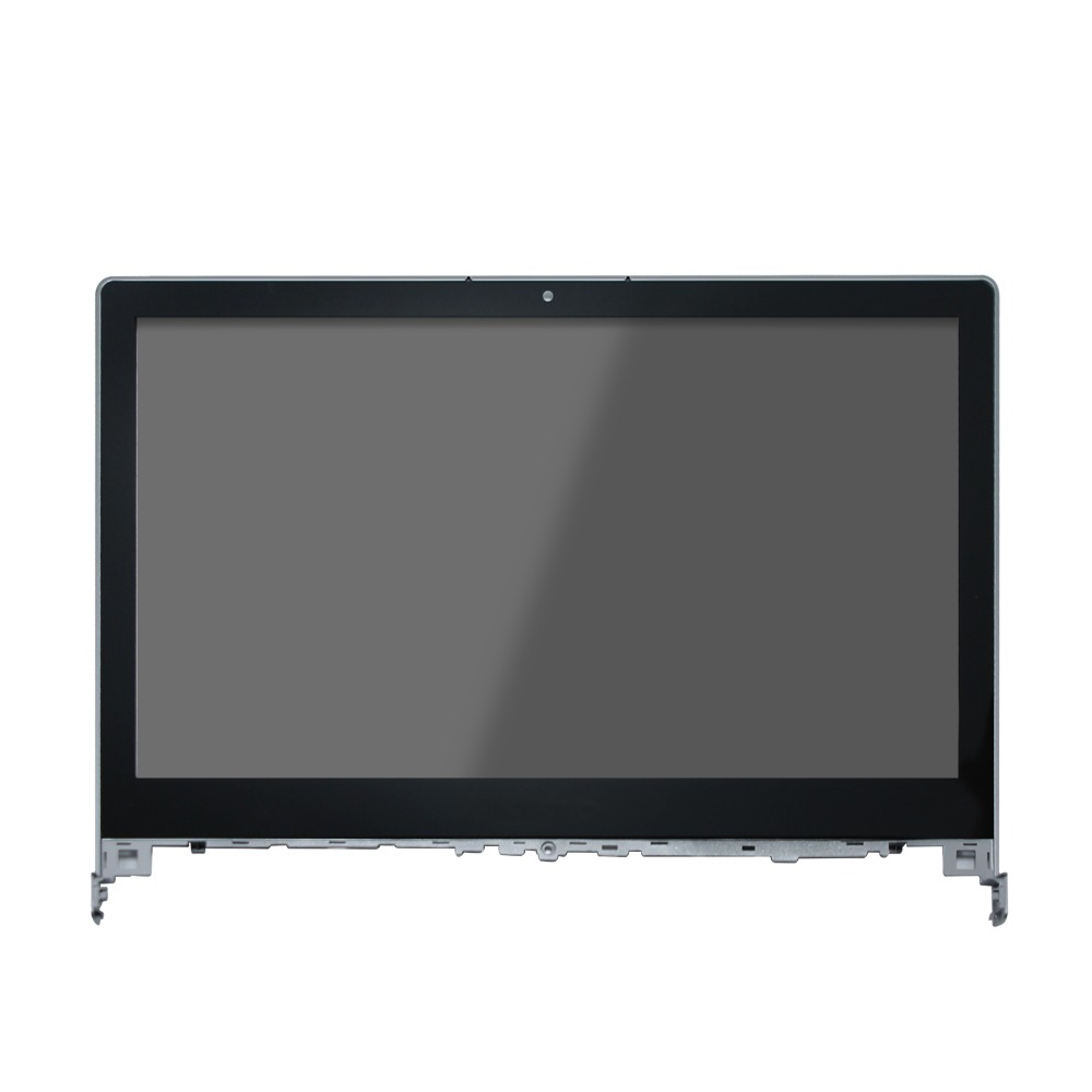 14'' Touch LCD Display Assembly Screen Digitizer + Bezel For Lenovo Flex2-14 14D 20404,1366*768 original 14 touch screen digitizer glass sensor lens panel replacement parts for lenovo flex 2 14 20404 20432 flex 2 14d 20376