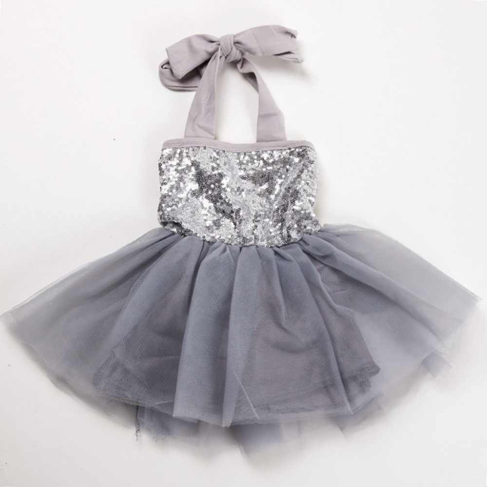 94bc0c8aef2 Silver Sequin Tulle Flower Girl Dress - Data Dynamic AG