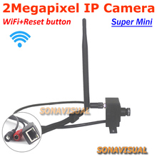 Full HD 1080P Mini IP Camera with reset button wirelss CCTV Camera support Wifi Onvif P2P Home security system 2.0MP IP Camera