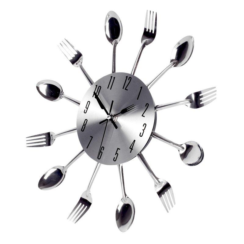 grande 3d orologio da parete design moderno in acciaio inox cucina muro qualit orologio al quarzo