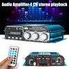 Digital Audio Stereo Amplifier 4 Channel Player USB SD Card DVD CD FM MP3 2018 Digital