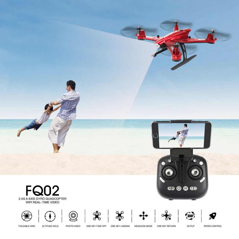 0.5/2.0MP 6 Axis Gyro Unmanned Aerial Vehicle Camera WiFi RC Helicopter Remote Control Toy free shipping hr sh5 rc airplane remote control plane aerial hd camera 6 axis gyroscope unmanned aerial vehicle uav drone toys