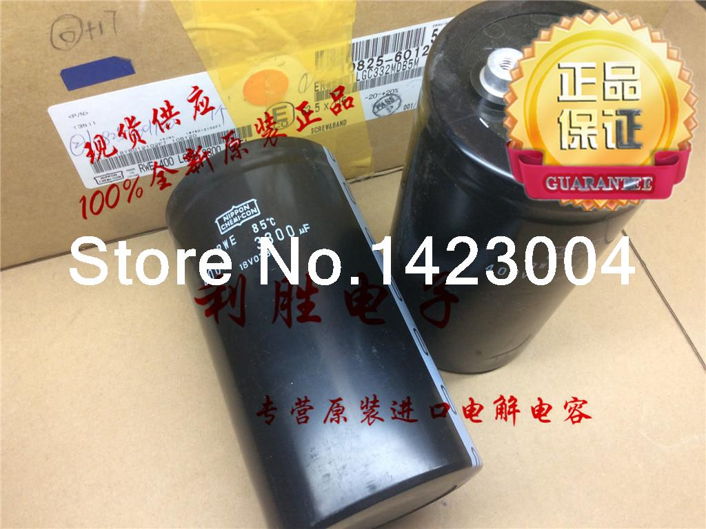 2015 japan ncc nippon 400V 3300UF 63.5X115 RWE 85C car audio Aluminum electronics capacitors diy - China Electronic supermarket store