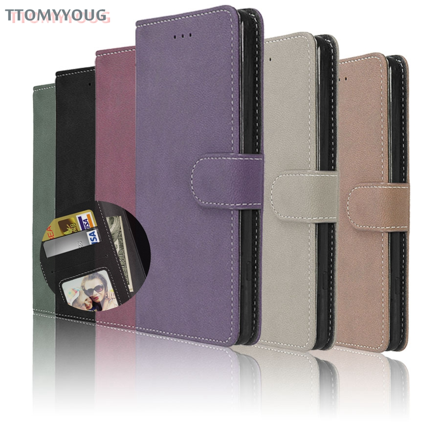 Luxury Cases For Sony Xperia E5 Case Luxury Wallet PU Leather Case Cover For Sony Xperia E5 F3313 F3311 Flip Protective Bags