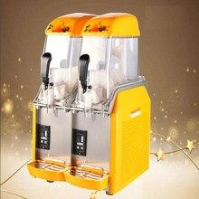 110 V/220 V Коммерческая пищевая пленка баллон для напитков двойной резервуар Машина Для Оттаивания снега снег грязи машина для измельчения льда
