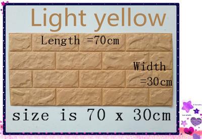 PCV 3D salon mur ceglany wzór tapety stickie dormitorium sypialnia retro wzór tapety adhesive392-F cegły 4