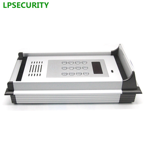 Image 3 - 200 rooms RFID 13.56MHZ & GSM/3G Quad band audio door gate Intercom GSM Residential Gate Access Entry Apartment controller