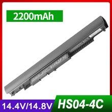 Laptop battery For HP Pavilion 14-ac0XX 15-ac0XX HS04 HS03 H