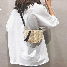Luxury Handbag Bucket Designer Bags Summer Beach Straw Bags for Women 2019 Zipper Weaving Shoulder Bags Messenger Bag Fashion vintage women weaving tassel straw bag solid shoulder bag messenger bucket beach bag handbag