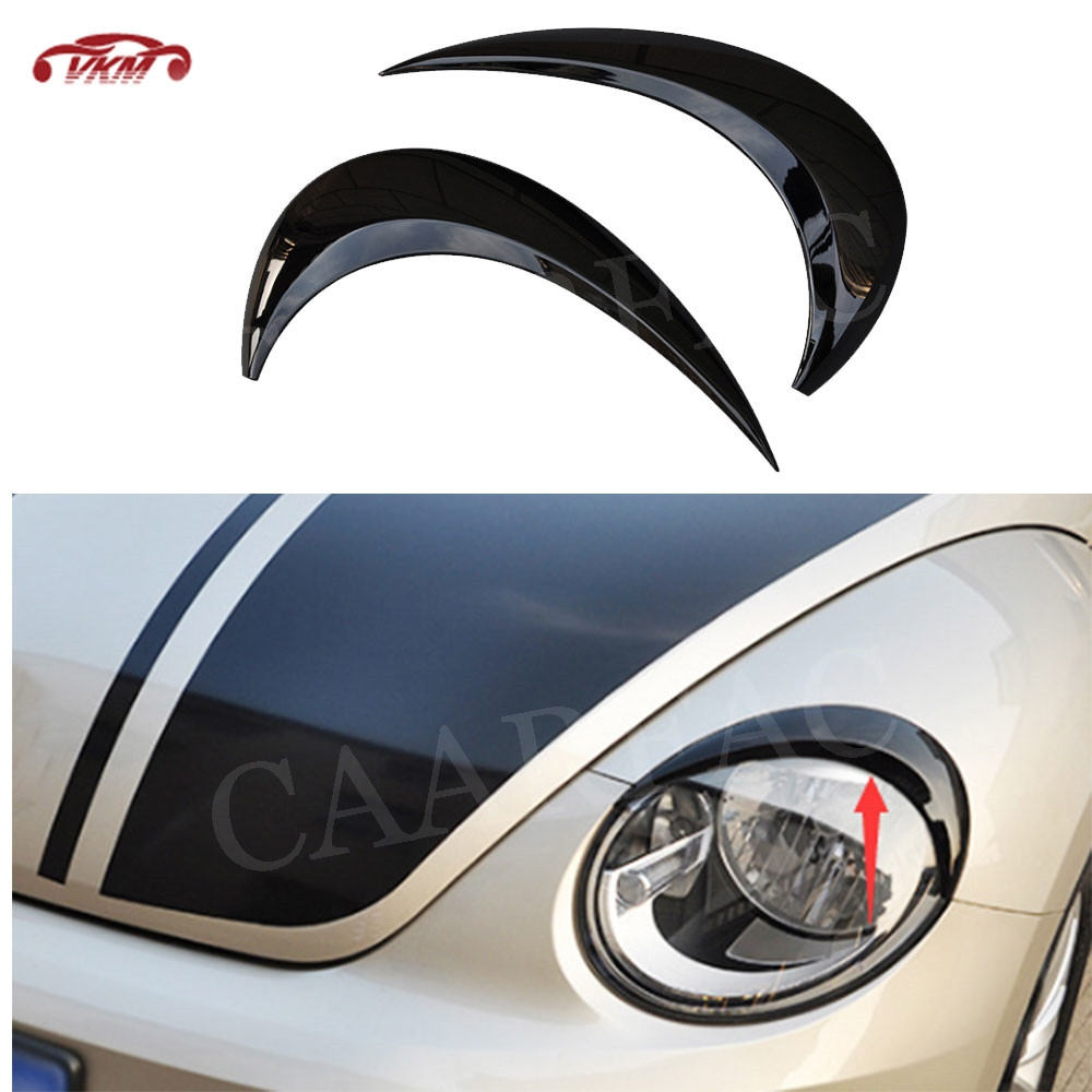 VW BORA Headlight eyebrows eyelids brows mask cover eye headlight cover covers