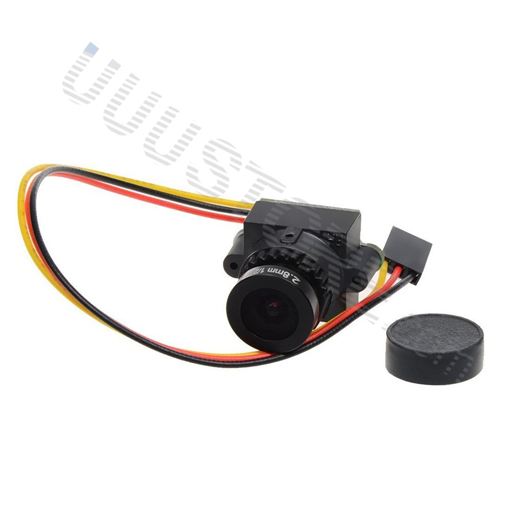 High Quality 1000TVL 1/3 CCD 110 Degree 2.8mm Lens Mini FPV Camera NTSC PAL Switchable For FPV Camera Drone