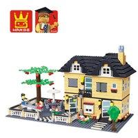 Education Building Class 816 Pcs3d Building Model Plastic Puzzle Toys For Children Free Shipping