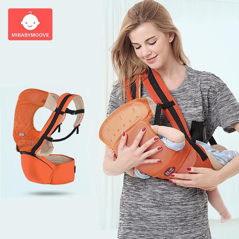 Porte-bébé ergonomique enfant en bas âge Hipseat fronde avant face kangourou sac à dos Portable respirant réglable porte-bébé