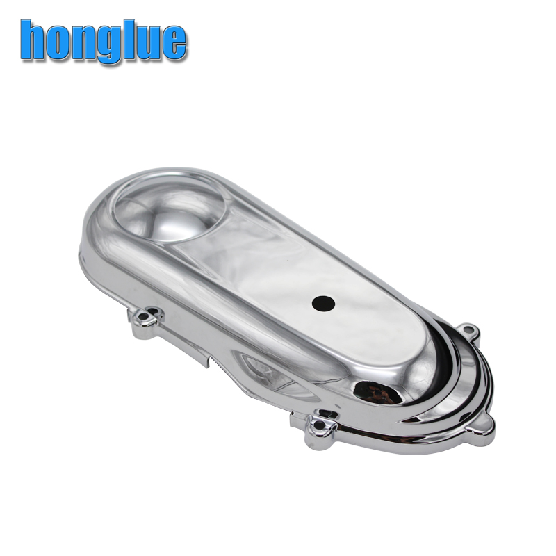 honglue For Honda DIOZ4 / SCOOPY / AF59 Motorcycle Scooter Electroplating Modification Engine Cover cyt alloy steel motorcycle engine valve for honda cg200 dark grey pair