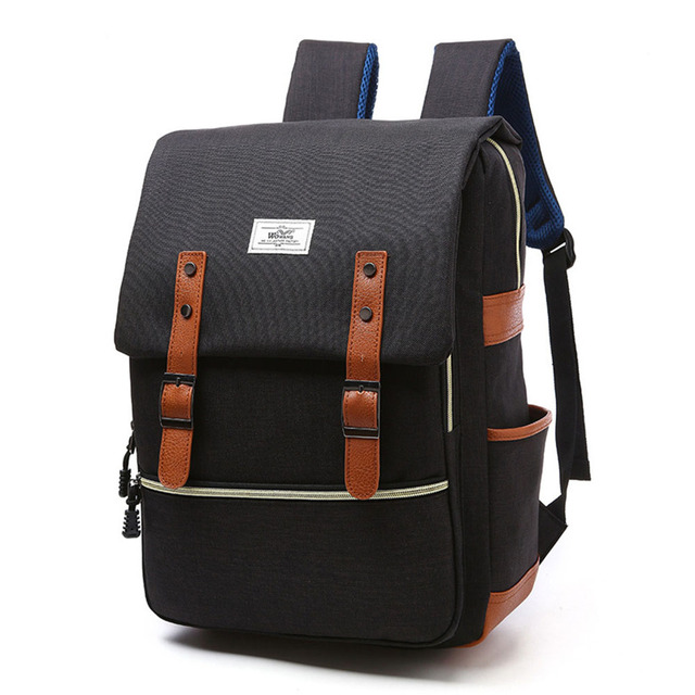 Unisex Vintage Laptop Backpack Business Backpacks for Mens Travel Bags  Women Casual Daypack Boys Girls College Students Rucksack 333a50f1d573e