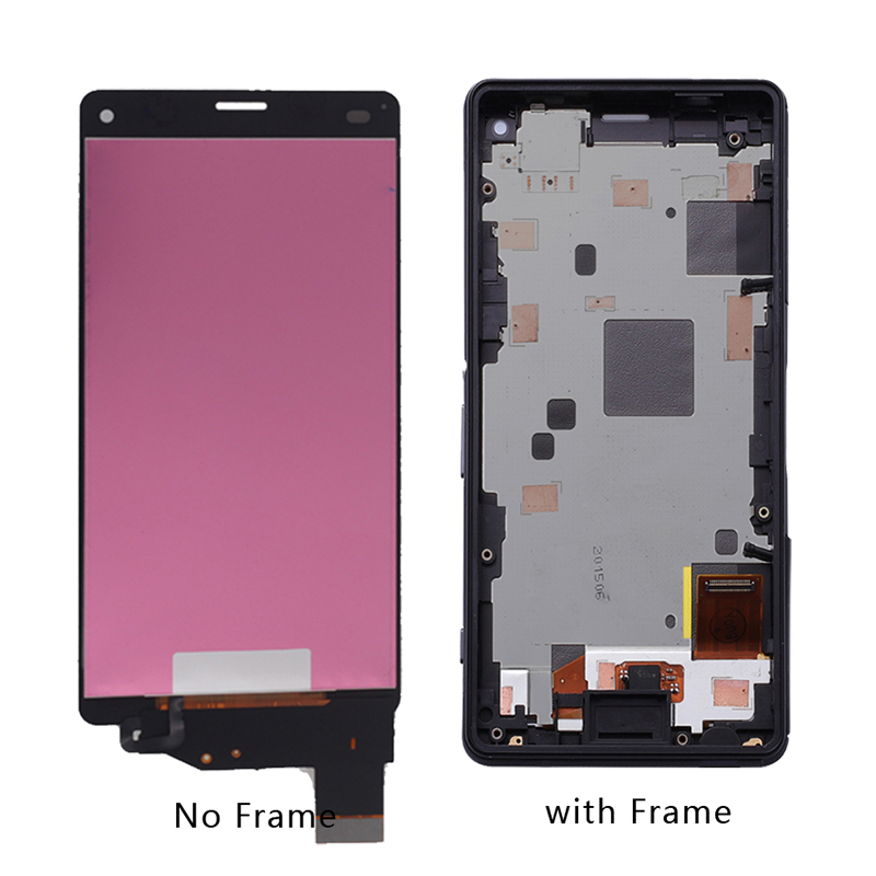 Image 3 - For Sony Xperia Z3 Compact D5803 D5833 LCD Monitor Digitizer Glass Panel Z3 Mini Components with Frame Phone Accessories+tool-in Mobile Phone LCD Screens from Cellphones & Telecommunications