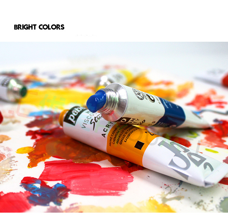 Professional 20ML Pebeo Acrylic Paint Set Color Art Painting paint for fabric Nail Clothing Wood Drawing For artist art supplies