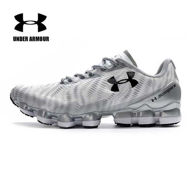 8f8831c494b17 Under Armour Scorpio 2 Mens Running Shoes Zapatillas Hombre Deportiva  Lace-up Cushioning Sneakers Non-slip Sport Shoes hot sale