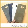 Оригинальный Заднее Стекло Крышка Батарейного Отсека Дверь Задняя Панель Корпуса Для Samsung Galaxy S6 edge Plus G9280 Частей Мобильного Телефона + Логотип