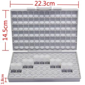 AideTek BOX-ALL-144 SMD SMT resistor capacitor storage box Organizer 1206 0805 0603 0402 0201 enclosure лоток для бумаг вертикальный металлический