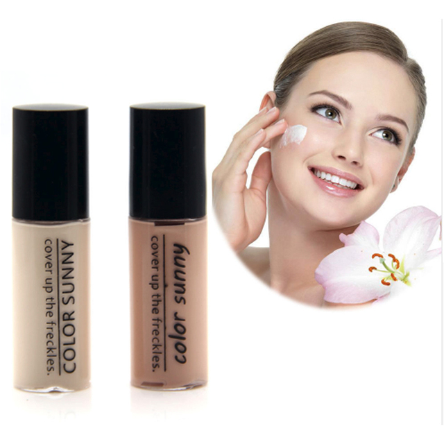 Color Sunny brand Hot sale Concealer Black eye concealer liquid face primer lasting liquid contour makeup foundation makeup 1