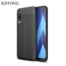 Phone Case sFor Samsung Galaxy A50 A70 Luxury Vintage Soft Silicone Leather Cover For A10 A20 A30 A40 A60 Capa