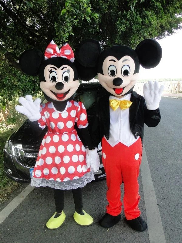 High Quality For mouse Costume Mascot Adult Size Fancy Costume Halloween Cosplay Carnival Costume