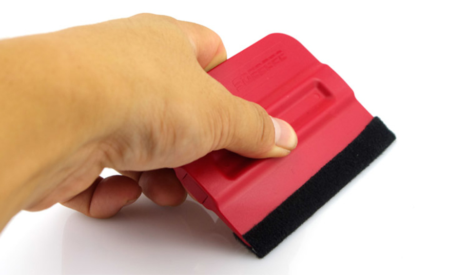 Image 4 - Magnetic Squeegee w/ Suede Felt Edges Vinyl Car Wrap Graphic Tool Non Scratch MO 140F-in Car Stickers from Automobiles & Motorcycles